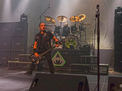 Overkill (Stephen J Pollard (Loud Music Lover of Nature)) Tags: musician music concert livemusic bassist drummer performer msica concertphotography bajista overkill artista msico baterista thrashmetal ddverni ronlipnicki