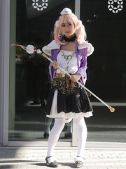 Paris Manga 20 - 2015-10-03- P1220279 (styeb) Tags: paris cosplay manga 03 versailles pm parc octobre parismanga pm20 pm2015