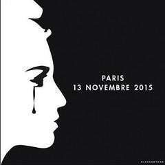 EN IMAGES. ''Pray for Paris'' : les hommages sur les rseaux sociaux (Abode of Chaos) Tags: