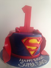 Superman 1st birthday (3830) (Asweetdesign) Tags: birthday cake superman superhero firstbirthday fondant superbaby boysbirthday