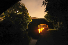 DSC_0232_mod (Martin Crowhurst) Tags: bridge night canal coventry coventrycanal