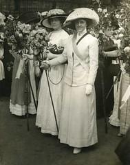 Lena Ashwell and Gertrude Elliott, Actresses Franchise League, 1911