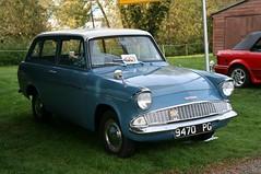 1963 Ford Anglia 1200 Super estate (davocano) Tags: brooklands 105e autumnclassicbreakfast 9470pg