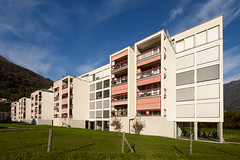 Verdemonte Housing Complex (Arnout Fonck) Tags: switzerland ticino 2015 archipel montecarasso ticinomilano