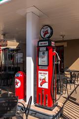 Vintage Gas Bowser (Serendigity) Tags: gasoline firechief texaco petrol vintage williams usa arizona unitedstates bowser town route66