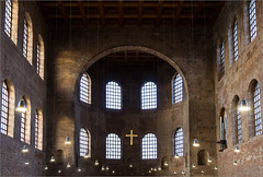 Constantine Basilica 01 (Chris Protopapas) Tags: church architecture ancient arch roman basilica sony constantine imperial late secular trier antiquity treves