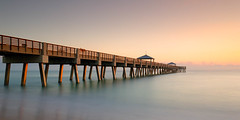 Sun Kissed - Juno Beach Pier (josesuro) Tags: sunrise landscapes florida piers junobeach 2015 afsnikkor1835mmf3545ged jaspcphotography nikond750