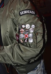 Skinhead badges (Scally Skin - Love skins Love Scally) Tags: skinhead skinheads oifest bgsskinheads skinheadbadges