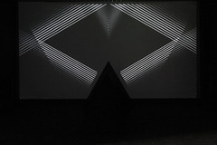INTO THE VOID (visiophone) Tags: light shadow white black max random minimal led immersive processing electronic arduino audiovisual