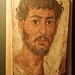 Romano-Egyptian Mummy Portrait Fayum Region Egypt Roman Period 50-200 CE