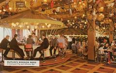 Butlins Bognor Regis - Carousel Pig & Whistle Bar (trainsandstuff) Tags: butlins bognorregis holidaycamp postcard vintage retro old history archival holidaycentre