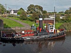 safely moored (midcheshireman) Tags: steam tug ship boat river weaver cheshire actonbridge kerne