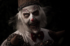 Cold as ice (Fotografreek) Tags: elfia elfia2016 elfiaarcen clown clowns killerclown halloween cosplayer ice icecold cold portrait scary creep creepy