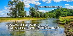 La Seine   Vix 21400 (Christian Labeaune) Tags: 2015 paysages chatillonsurseine21400 bourgognectedor france christianlabeaune chtillonnais laseine vix