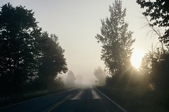And Then the Day Began (davelawrence8) Tags: 5d 40mm 2016 fog landscape liberty michigan rural ruralamerica rurallife summer sunrise vsco mi usa