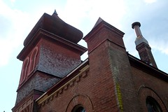 Temple Gemiluth Chessed (pburka) Tags: moorish synagogue brick portgibson mississippi temple gemiluth chessed 1892 architecture closed route61