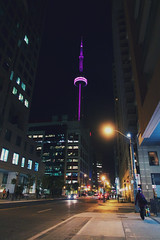you know what it is (thatgirlwiththekicks) Tags: toronto night view views lights street skyscrapers cntower city cityscape evening ritzcarlton the6 6ix 416