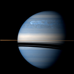 Saturn - February 25 2011 (Kevin M. Gill) Tags: saturn cassini infrared storm nasa jpl space