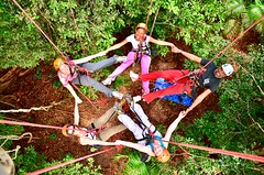 """Macucu Tree Climbing in Amazon. Manaus, Brazil. Feb 2011 #itravelanddance • <a style=""""font-size:0.8em;"""" href=""""http://www.flickr.com/photos/147943715@N05/29878570144/"""" target=""""_blank"""">View on Flickr</a>"""