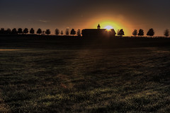 Sunset on a Kentucky Horse Farm (Klaus Ficker thanks for + 2.000.000 views.) Tags: sunset evening horsefarm hdr horse kentucky kentuckyphotography klausficker canon eos5dmarkiv sonnenuntergang abendsonne pferde farm