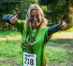 Two Thumbs Up (JamesJ.Harris) Tags: muddy mud pack hospice st saint francis ashridgehouse charity run hemel hempstead fun water sunny race berkhamsted