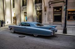 1960 Cadillac Eldorado - Chicago (vision63) Tags: 1960 cadillac eldorado car vehicle transportation chicago illinois clark street urban downtown loop vintage classic travel