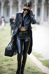 Bella Hadid in vinyl pants (Vinyl Beauties) Tags: bella hadid pvc vinyl plastic pants trousers fashion clothing celebrities top models women girls pvcpants pvctrousers vinylpants vinyltrousers plasticpants plastictrousers pantalonesdevinilo pantalonesdeplástico calçadevinil calçadeplástico moda mode vinil plástico vinilo vinyle plastique plastik vinile plastica pvcclothing vinylclothing plasticclothing roupadevinil roupadeplástico ropadevinilo ropadeplástico vêtementenvinyle vêtementenplastique abbigliamentoinvinile abbigliamentoinplastica plastikkleidung pvckleidung roupa ropa abbigliamento vêtement kleidung jeans pantalones pantalon pantaloni hose lackhose plastikhose pantaloniinvinile pantalonenvinyle pantaloniinplastica pantalonenplastique