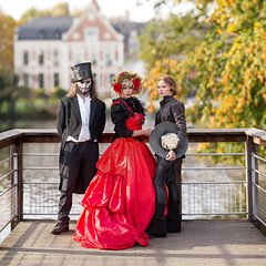 Family affair (Pap_aH) Tags: papah france modele model zombie mortvivant nord north wambrechies 2016 meeting bokehrama brenizer panoramique panoramic