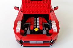 Engine Compartment (MortalSwordsman) Tags: ferrarif12berlinetta ferrari lego legocar legoferrari f12