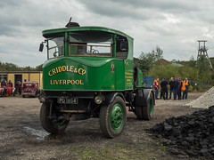 Maggie May at Foxfield (Ben Matthews1992) Tags: foxfield railway traction engine steam old vintage historic preserved vehicle transport british staffordshire england britain sentinel tractor wagon waggon 5558 maggiemay criddle pd1854