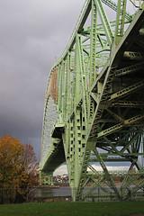 Runcorn Bridge Up Close (big_jeff_leo) Tags: runcorn runcornbridge england cheshire river mersey estuary road steel iron archway