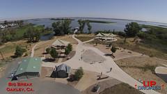DU Big Break 1 (bradleybennett) Tags: drone drones fly high quad copter blade 350qx3 remote control flying big break marina ebrp pier delta water