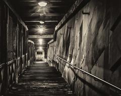 Stairway to.......up town (vision-manu) Tags: blackwhite schwarzweiss photoshopcreativo