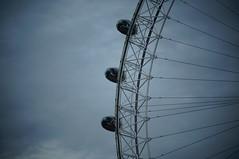 The London eye. (wunschkuenstlerin) Tags: london londoneye november england greatbritain fall herbst winter westminster westminsterbridge