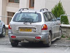 2001 Hyundai Santa Fe | Y715 VFF | From Bangor, United Kingdom. (V.T. Plates Photography) Tags: hyundai santafe