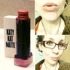 Katy Kat Matte in #01 Sphynx is *the* nude lipstick for me...but it's almost gone! I need to hit up a store ASAP for another one, or perhaps a hopefully-cheaper dupe that is matte or demi-matte in the same shade.  #COVERGIRL #COVERGIRLKatyPerry #KatyPerry (Jenn ) Tags: instagramapp square squareformat iphoneography uploaded:by=instagram ginza