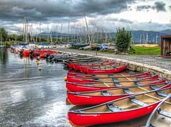 Derwentwater Marina (Ian Gedge) Tags: england uk britain cumbria lake lakes lakedistrict water derwentwater derwent boats marina