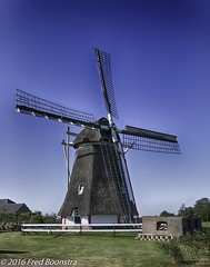 Today -7 C (17.6 F) , thinking of warmer days :) (A.J. Boonstra) Tags: windmill mill netherlands warnsveld achterhoek sigma18300mmf3563dcmacrooshsmc sigma canon canon70d canoneos hdrefexpro2 dewarkensemolen