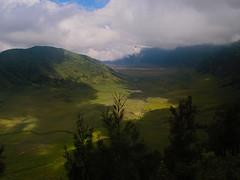 Bromo-Tengger-Semeru National Park, the caldera (2) (elly.sugab) Tags: mountain mount bromo semeru caldera savana highland nationalpark ranupani ngadas malang landscape