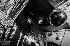 gbw autumn (genelabo) Tags: glocke munich glockenbachwerkstatt gbw interactive light sculpture mayerempl genelabo mapping installation video visualist colourful indoor stairs treppen foyer münchen bw sw black white monochrome stripes waschanlage discokugel mirrorball sony