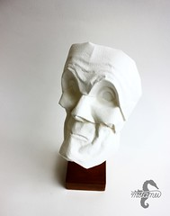 The Self-critical Lecher (mitanei) Tags: origami face sculpture origamiface origamimask origamihead mask head messerschmidt maske origamigesicht gesicht mitanei paperart papierkunst art paper keepfoldingon skulptur papierskulptur faces