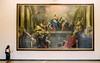 At Le Louvre (Snap Man) Tags: 1starrondissement 2001 france muséedulouvre paris robinkanouse thelouvre artwork byklk painting
