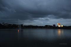 Southwest Monsoon (Debatra) Tags: sankeytank bangalore bengaluru blore karnataka ka monsoon southwestmonsoon southwest india weather phenomenon clouds sky skyporn water lake nikon nikkor 1855 1855mm d3300
