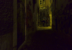 The dark alleys of Mouraria #street #lisbon (t3mujin) Tags: city conditions estremadura europe lisboa lisbon location mouraria night places portugal street t3mujinpack