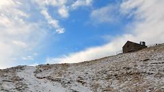 Blue 11-11-2016 (luca2142) Tags: italy italia rasura alpi alps hut baita alpiorobie valgerola valtellina alpeculino lombardia lombardy snow neve clouds nuvole sky cielo