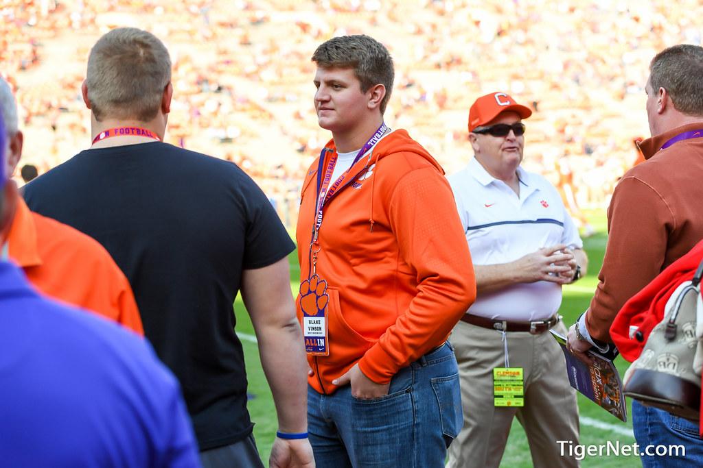 Clemson Photos: Blake  Vinson, 2016, Recruiting