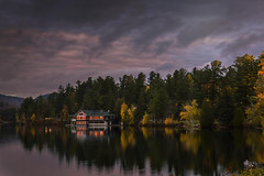 Mirror lake , Lake Placid  Adirondack New York (nguyentruyen344) Tags: lake placid mirrow adirondack new york fall sunrise sunset reflection