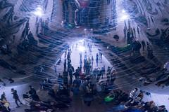 Under the Cloud Gate (sjshoreman) Tags: chicago illinois cloudgate bean reflection millenniumpark