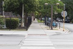 Kubrick (bmayzure) Tags: symmetry sidewalk kubrick cinemaready street chicago il unitedstates usa