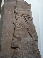 Lamassu Relief (Aidan McRae Thomson) Tags: nineveh assyrian relief sculpture ancient mesopotamia britishmuseum london
